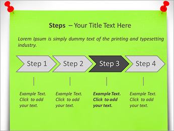 Paper Note PowerPoint Template - Slide 4
