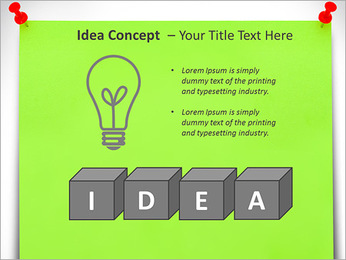 Paper Note PowerPoint Template - Slide 60