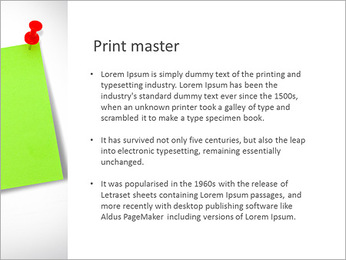 Paper Note PowerPoint Template - Slide 76