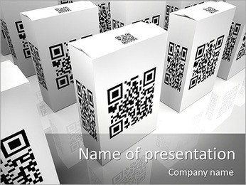 Identification Code PowerPoint Template