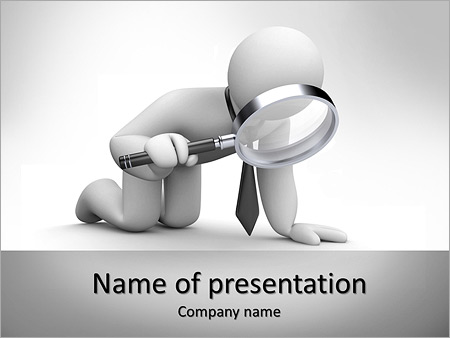 Search with loupe powerpoint template backgrounds id 0000006945 search with loupe powerpoint templates toneelgroepblik Image collections
