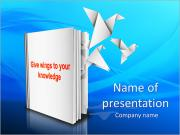 Knowledge Wings PowerPoint Templates
