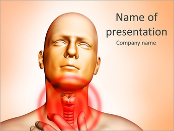 Throat Infection PowerPoint Template