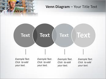Do trabalhador da construção Modelos de apresentações PowerPoint - Slide 12