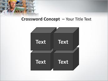 Do trabalhador da construção Modelos de apresentações PowerPoint - Slide 19