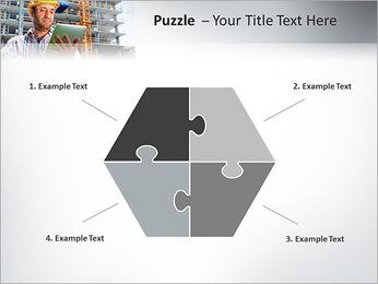 Do trabalhador da construção Modelos de apresentações PowerPoint - Slide 20