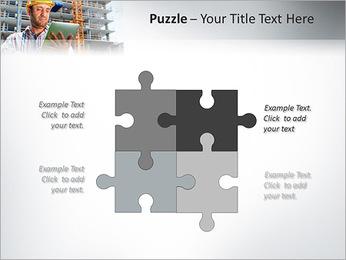 Do trabalhador da construção Modelos de apresentações PowerPoint - Slide 23