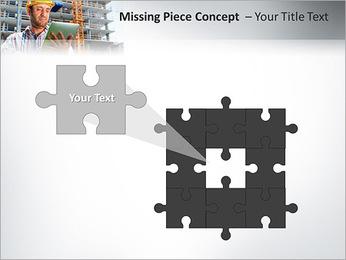 Do trabalhador da construção Modelos de apresentações PowerPoint - Slide 25