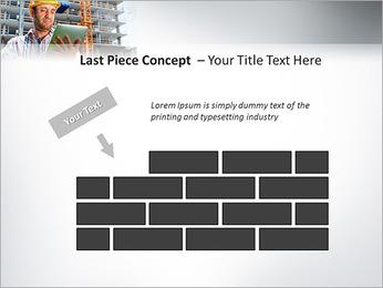 Do trabalhador da construção Modelos de apresentações PowerPoint - Slide 26