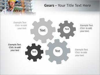 Do trabalhador da construção Modelos de apresentações PowerPoint - Slide 27