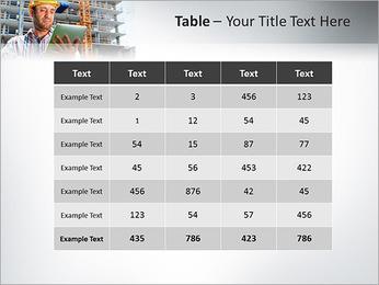 Do trabalhador da construção Modelos de apresentações PowerPoint - Slide 35