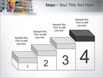 Do trabalhador da construção Modelos de apresentações PowerPoint - Slide 44