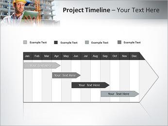 Do trabalhador da construção Modelos de apresentações PowerPoint - Slide 5
