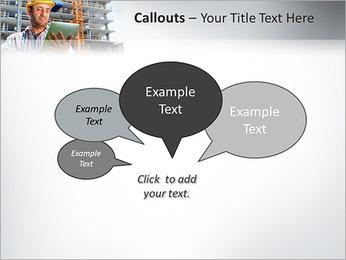 Do trabalhador da construção Modelos de apresentações PowerPoint - Slide 53