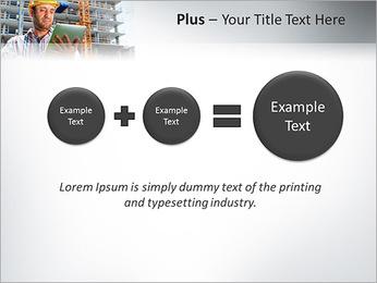 Do trabalhador da construção Modelos de apresentações PowerPoint - Slide 55