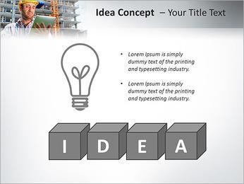Do trabalhador da construção Modelos de apresentações PowerPoint - Slide 60
