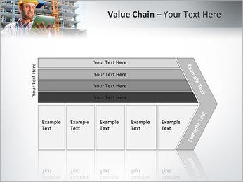 Do trabalhador da construção Modelos de apresentações PowerPoint - Slide 7