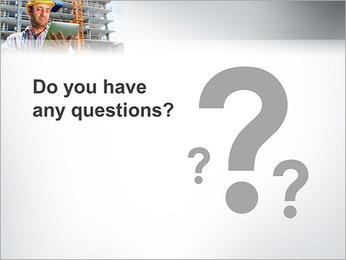 Do trabalhador da construção Modelos de apresentações PowerPoint - Slide 75