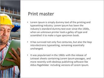 Do trabalhador da construção Modelos de apresentações PowerPoint - Slide 76
