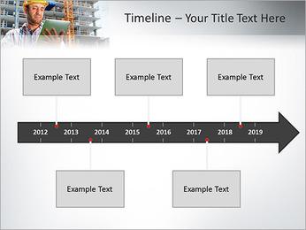 Do trabalhador da construção Modelos de apresentações PowerPoint - Slide 8