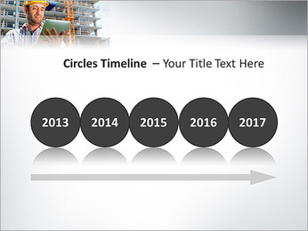 Do trabalhador da construção Modelos de apresentações PowerPoint - Slide 9