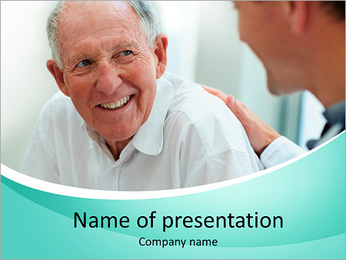 Old Man PowerPoint Template