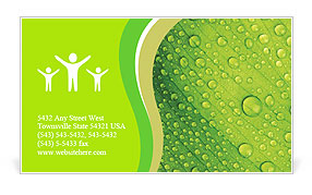 Dew Business Card Template