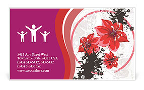 0000060295 Business Card Template