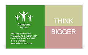0000060320 Business Card Template