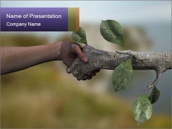 0000060343 PowerPoint Template - Slide 1