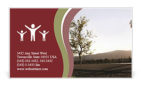 0000060355 Business Card Template