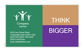 0000060491 Business Card Template