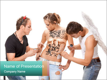 0000060544 PowerPoint Template - Slide 1