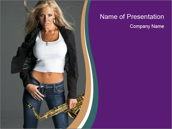 0000060772 PowerPoint Template - Slide 1