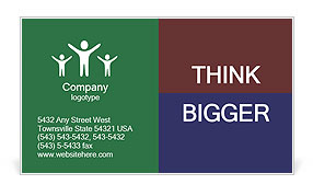 0000060780 Business Card Template