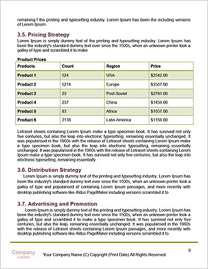 0000060801 Word Template - Page 9