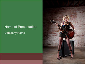 0000060912 PowerPoint Template - Slide 1