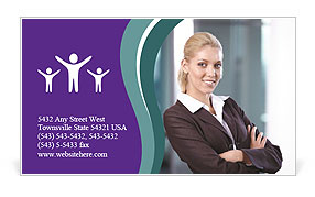 0000061004 Business Card Template