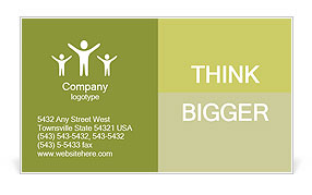 0000061109 Business Card Template