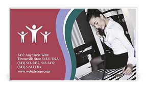 0000061257 Business Card Template