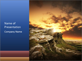 0000061344 PowerPoint Template - Slide 1