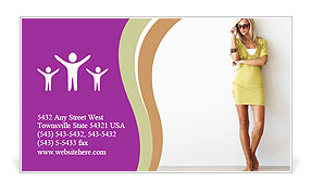 0000061394 Business Card Template