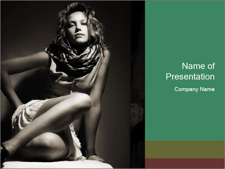 0000061425 PowerPoint Template - Slide 1