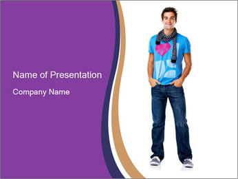 0000061623 PowerPoint Template - Slide 1