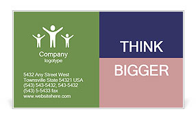 0000062012 Business Card Template