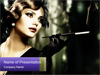 0000062216 PowerPoint Template - Slide 1