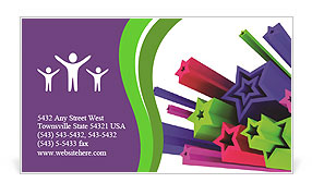 0000062301 Business Card Template