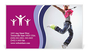 0000063111 Business Card Template