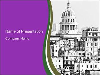 Trip to Old Havana PowerPoint Templates - Slide 1