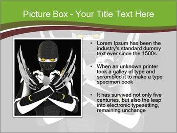3D Steel Robot PowerPoint Templates - Slide 13